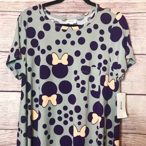 L Minnie Mouse Lularoe Carly Disney Collection